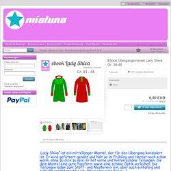 mialuna - Ebook Übergangsmantel Lady Shiva Gr. 34-46