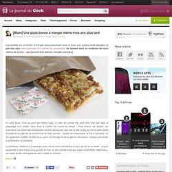 [Miam] Une pizza bonne à manger même trois ans plus tard