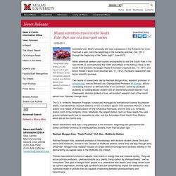 Miami University News: News Release