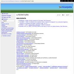 micarpeta - LITERATURA