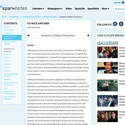 an analysis of the contained characters and settings of mice and men by john steinbeck In this unit we shall study john steinbeck's famous novella of mice and men we shall give you a detailed summary of the novel chapter wise and make a critical analysis of each 11 introduction of mice and menis a novella written by nobel prize-winning author john steinbeck published in 1937, it tells the tragic story of.