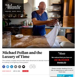 'Cooked': Michael Pollan Wants Americans to Get Back in the Kitchen