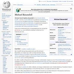 Michael Baxandall