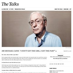 Michael Caine Interview