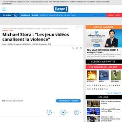 """""""Les jeux vidéos canalisent la violence"""""""