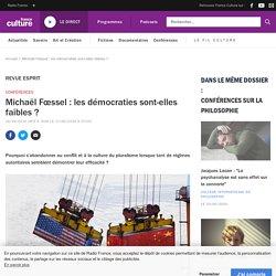 Michaël Fœssel : les démocraties sont-elles faibles ?
