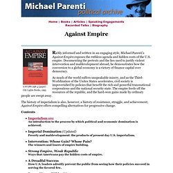 Michael Parenti: Against Empire
