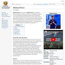 Michael Peres - Wikitia