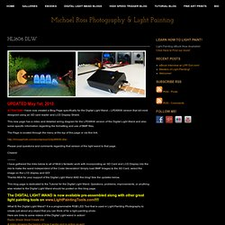 Michael Ross Photography & Light Painting » Tutorials