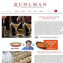 Michael Ruhlman - Translating the Chef's Craft for Every Kitchen kitchen