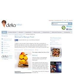 Michael's Mango Fool - Summer desserts