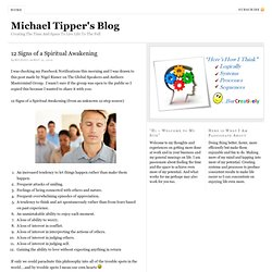 Michael Tipper's Blog — Creating The Time And Space To Live Life To The Full
