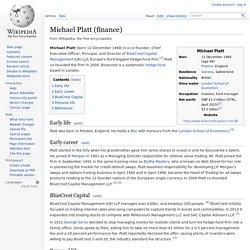 Michael Platt (finance)