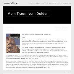 Michael Zeller » Blog Archive » Mein Traum vom Dulden
