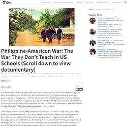 Philippine-American War: The War They Don't Teach in US Schools (Scroll down to view documentary) | Michael D. Sellers