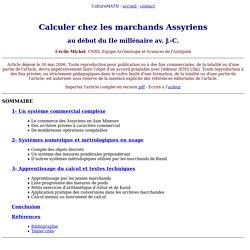 Michel 06 - marchands assyriens