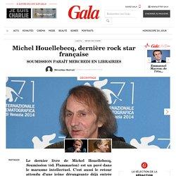 Michel Houellebecq, dernière rock star française