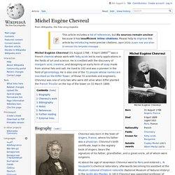 Michel Eugène Chevreul