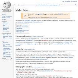Michel Fayol