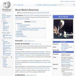 Henri Michel (historien)