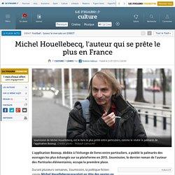 Le Figaro - Michel Houellebecq, l'auteur qui se prête le plus en France