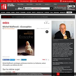 Michel Maffesoli: «Ecosophie»