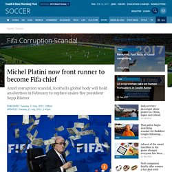 Michel Platini now front runner to become Fifa chief