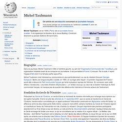 Michel Taubmann service Info Arte-Paris