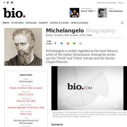 Michelangelo - Painter, Architect, Poet, Sculptor