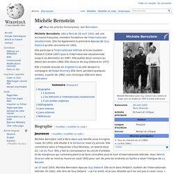 Michèle Bernstein
