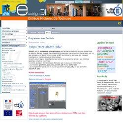 Michelet de Toulouse - Programmer avec Scratch