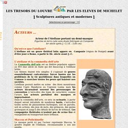 Michelet : Visite du louvre - Sculpture