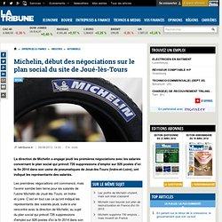 Michelin, début des négociations sur le plan social du site de Joué-lès-Tours
