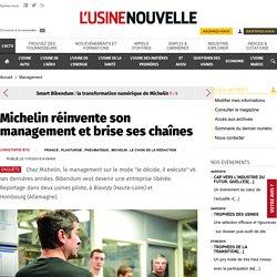 Michelin réinvente son management et brise ses chaînes - Pneumatique