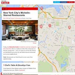 New York City's Michelin-Starred Restaurants