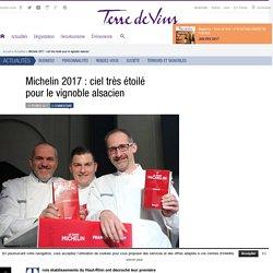 Michelin 2017 : ciel très étoilé pour le vignoble alsacien - Michelin 2017 : ciel très étoilé pour le vignoble alsacien