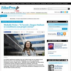 """Michelle Weise : """"À l'avenir, chaque étudiant se constituera son propre cursus"""""""