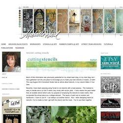 michelle ward: tutorial: cutting stencils