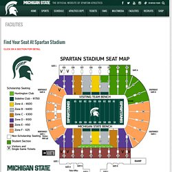 MSU: Spartan Stadium Seating