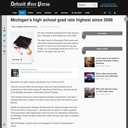 Michigan's high school graduation rate rises to 79%