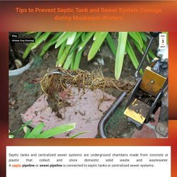Michigan Winter Tips for Sewer & Septic Tank to Avoid Damage