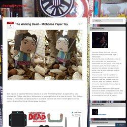 The Walking Dead – Michonne Paper Toy