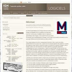 Micmac - LOGICIELS