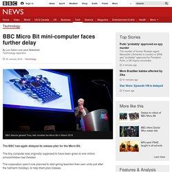 BBC Micro Bit mini-computer faces further delay