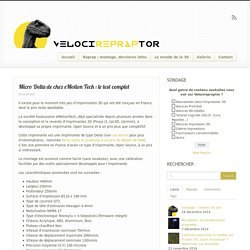 Micro Delta de chez eMotion Tech : le test complet