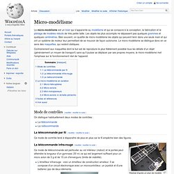 Micro-modélisme