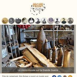 Un micro-musée sur la Grande Guerre