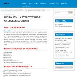 Micro ATM - Paymonk