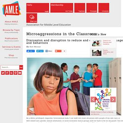 Microaggressions in the Classroom