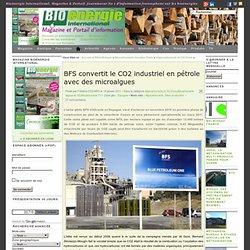 BFS convertit le CO2 industriel en pétrole avec des microalgues